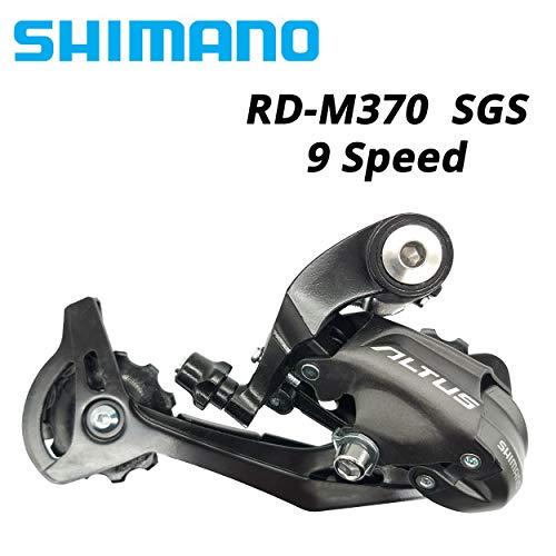 Haute Qualité Shimano Altus RD-M370 RD M370 3x9S Vitesse 24S 27S Dérailleurs Arrière SGS VTT Vélo Accessoire Pièces De Vélo pour 310 M360 M390 M4000 (Color : RD M370)