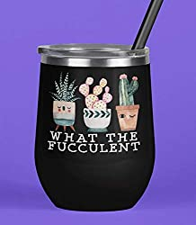 what the fucclent wine tumbler