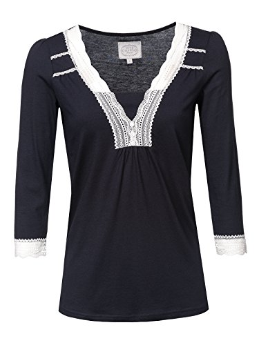 Vive Maria Dreaming Basic Single Shirt Dark Navy, Größe:S