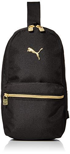 PUMA Sling Bag, Black/Gold, One Size
