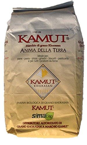 """5 Kg Farina Di Kamut® Grano Khorasan """"tipo 0"""" -molino Zappala'- Prodotto Biologico"""