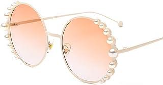 DishyKooker Fashion Round Frame Sunglasses All Matching Accessory Eyewear