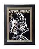 Grupo Erik Star Wars Darth Vader Print/Bild mit Rahmen,