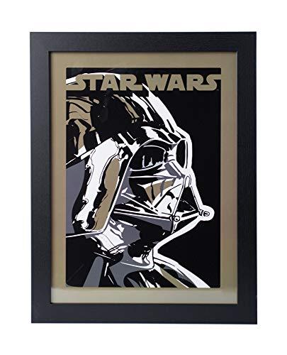 Grupo Erik PE30X40CM0018 Cuadro Decorativo Star Wars Darth Vader, Darth Vader