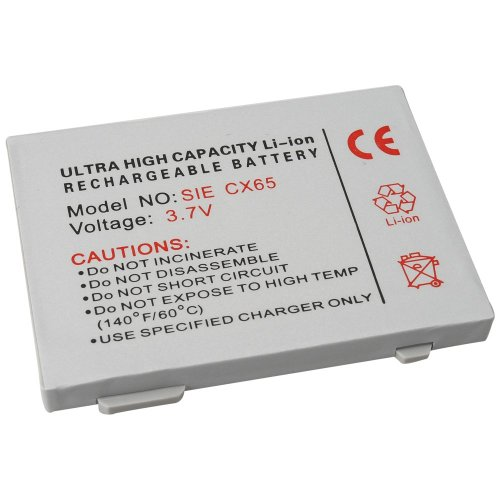 foto-kontor Akku für Siemens C65 M65 CX65 S65 CT65 CX70 SK65 SP65 CX75 C70 M75 C75 ME75 S75 Ersatzakku Accu Batterie