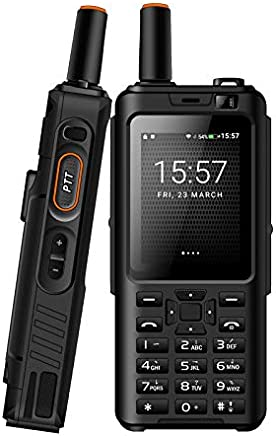 $113 » UNIWA Alps F40 Zello Walkie Talkie 4G Mobile Phone IP65 Waterproof Rugged Smartphone MTK6737M Quad Core Android Feature Phone (Black, Standard Keyboard)