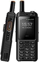 UNIWA Alps F40 Zello Walkie Talkie 4G Teléfono móvil IP65 Smartphone Resistente al Agua MTK6737M Quad Core Android Feature Phone (Negro, Standard Keyboard)