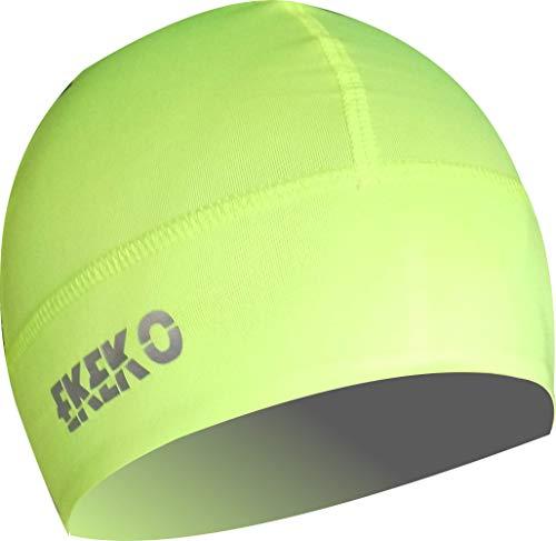 Gorro Winter EKEKO TEIDE, Running, Ciclismo y Deportes de Invierno en General. Unisex (Amarillo Fluor,