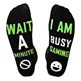 Novelty Gifts Socks Do Not Disturb I'm Gaming Socks Funny Gifts for Kids Teen Boys Mens Womens Gamer Lovers