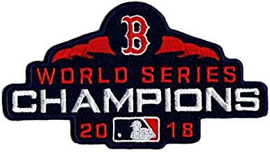 Baseball RED SOX World Series Champions Patch 2018 World Series Champs Patch Embroidered Sleeve Style Patch 4