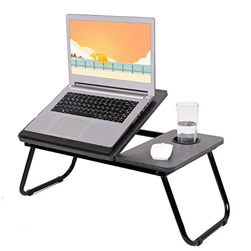 Robasiom Mesa de ordenador portátil ,Mesa de Cama multifunción,Bandeja de Cama Desayuno,Escritorio Portatil Cama, cama para cama, sofá, lectura y desayuno ⭐