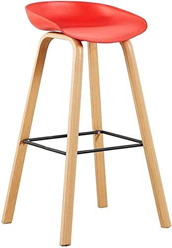 JIEER-C vrijetijdsstoel barkruk van PP Nordic vrije tijd eettafel houten frame keuken restaurant eenvoudige montage zithoogte 74 cm robuust Netto