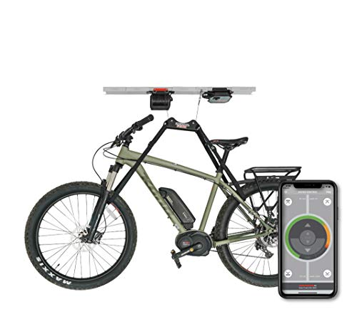 Universal Lifter, Motorized Garage Storage Hoist. iOS & Android Compatible.