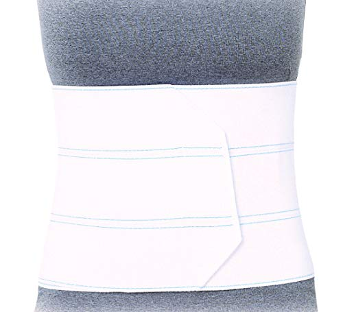 Superior Braces (3 Panel - Small/Medium, 30' - 45' Waist) Premium Abdominal Binder for Waist and Back Support, Compression Wrap, Post Surgery Support