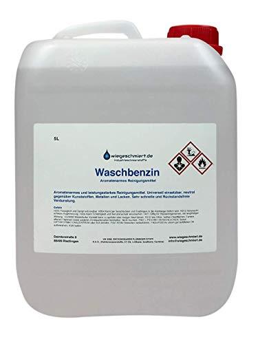 Waschbenzin Reinigungsbenzin Schnellreiniger Entfetter Fleckenentferner in Industriequalität