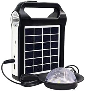 JOYWAY-Blue Carbon outdoor portable rechargeable solar lighting system 6V, 3W, replaceable 3000MAH lithium battery charged...