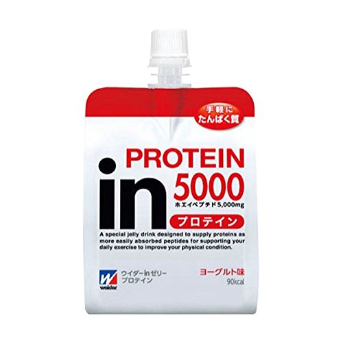 森永製菓 ウイダーinゼリー プロテイン ヨーグルト味 180g x 24セット