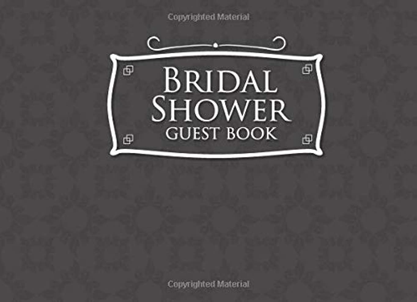恒久的シーフード多様体Bridal Shower Guest Book