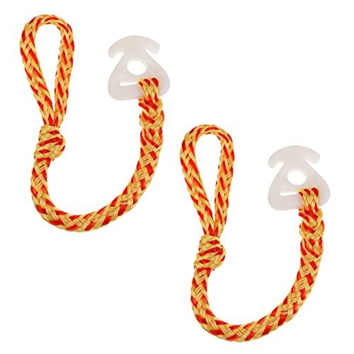 FUFRE 2 Piezas Cuerda de Remolque de Barco 45 CM Cable de...