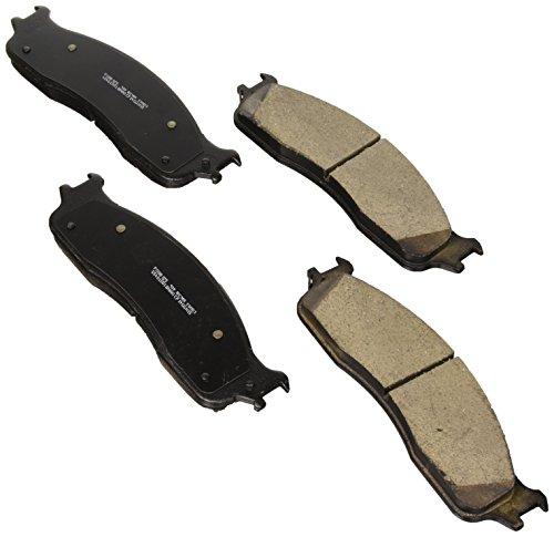Bosch BC965 QuietCast Premium Ceramic Disc Brake Pad Set For Dodge: 2006-2010 Ram 1500, 2003-2008 Ram 2500, 2003-2008 Ram 3500; Front