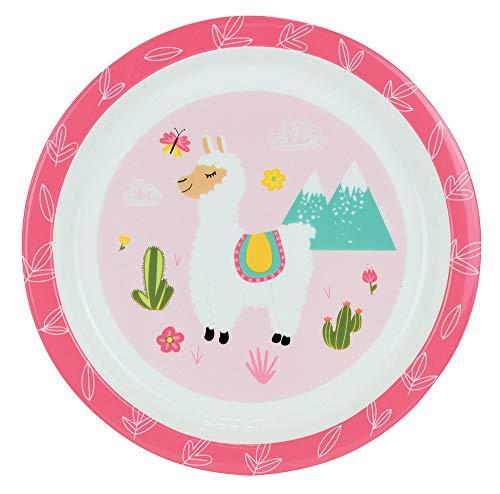 Fun House 005692 Lola Le Lama Mikrowellenteller für Kinder