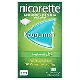 Nicorette 2 mg freshmint, 105 St -