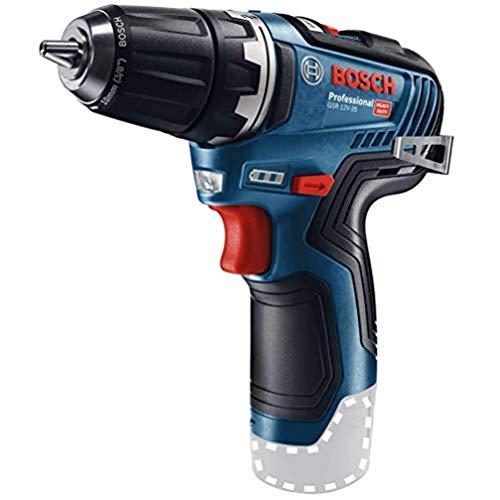 System profesjonalny 12 V firmy Bosch: wiertarko-wkrętarka akumulatorowa GSR 12V-35 (bez akumulatorów i ładowarki, opakowanie kartonowe)