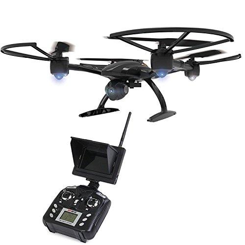 JXD 509G 5.8G FPV Drone con 2.0MP HD in Tempo Reale della Macchina Fotografica Aerea, Veduta Attesa Modo Senza Testa One Key Ritorno RC Quadcopter