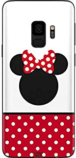 Skinit Decal Phone Skin for Galaxy S9 - Officially Licensed Disney Minnie Mouse Symbol Design