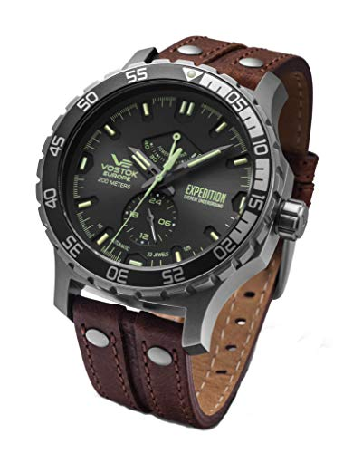 Vostok Europe Automatik-Herrenuhr Expedition Everest Underground YN84-597A543
