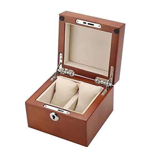 SH-snh SH-snh Holz Uhrenbox, Display-Ständer/Box Set/Aufbewahrungsbox für Schmuck Uhren, Armband Collection Box 2 Grids Watch Display Box