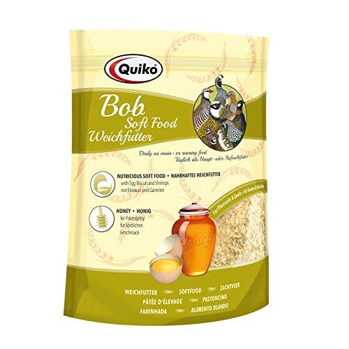 Quiko Bob 1kg - Weichfutter für Wachteln, Fasane, verschiedene Hühnerarten & Bodenvögel