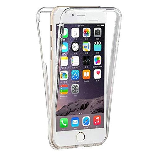 TBOC Funda para Apple iPhone 7 - iPhone 8 (4.7 Pulgadas) - Carcasa [Transparente] Completa [Silicona TPU] Doble Cara [360 Grados] Protección Integral Total Delantera Trasera Lateral Móvil Resistente