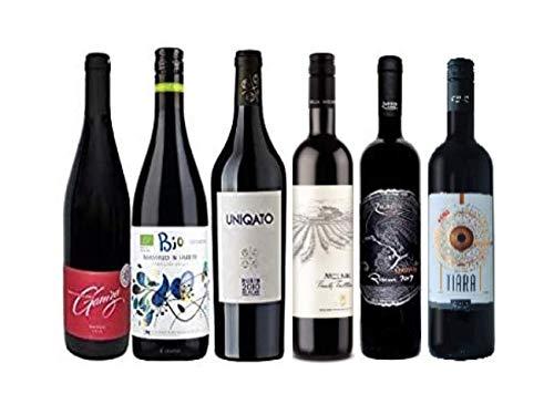 Probierpaket mit 6 Weinen aus autochtonen bulgarischen Rebsorten