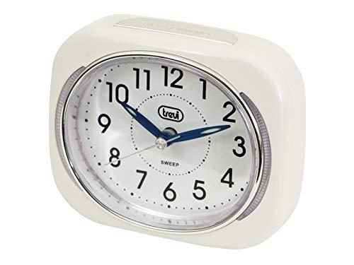 Trevi SL 3040 - Despertador (Analógico, 100 x 36 x 85 mm, AA, Color Blanco)
