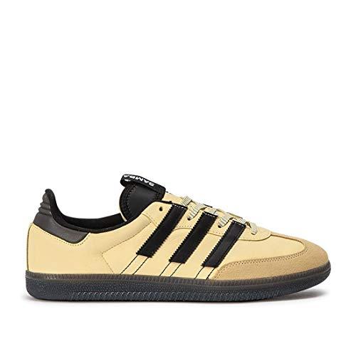 adidas Originals Samba OG MS Herren Sneaker Creme-Gelb, Größenauswahl:43 1/3