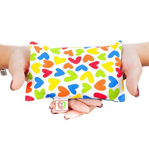 Cojín Anticólicos para Bebés - Saquito Térmico de Semillas Cólicos del Lactante...