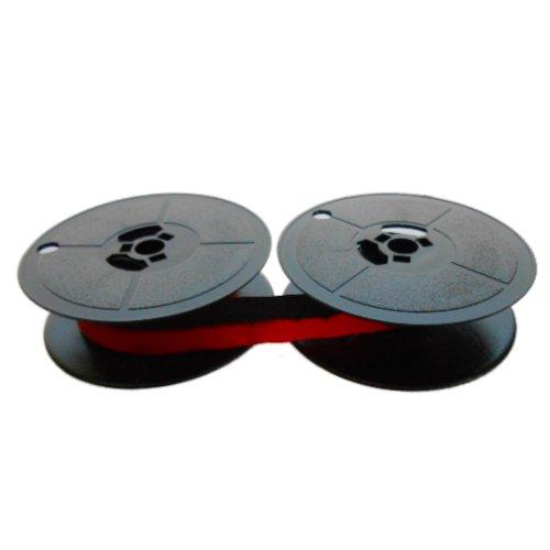 Cinta- negro/rojo -compatible con- Olivetti Valentine- Gr.8 -Marca Farbbandfabrik