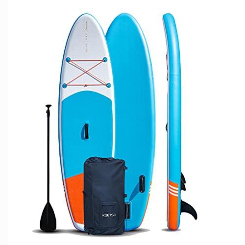 Stand Up Paddling Board 8'8'270X72x15cm Tabla De Sup, Bomba con Manómetro, Remo Deportivo Ajustable De Aluminio, Mochila Y Correa, para Jóvenes Adultos