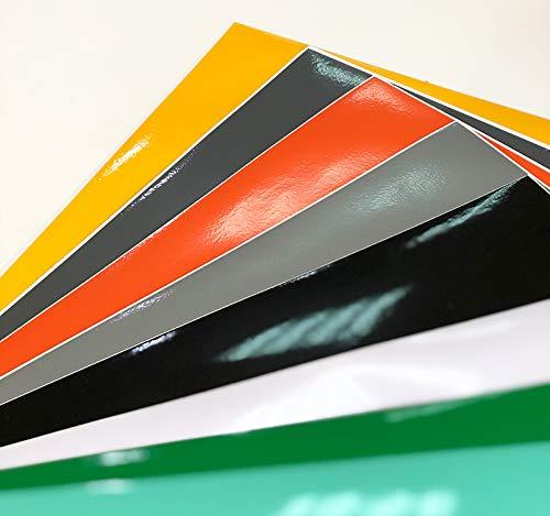 Pack 10 hojas A4 de Vinilo Adhesivo Colores Surtidos