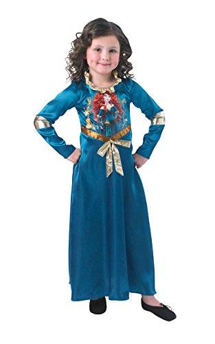 Rubie's Costume ufficiale Disney Principessa Merida Storytime Classic Merida Bambino - Piccolo