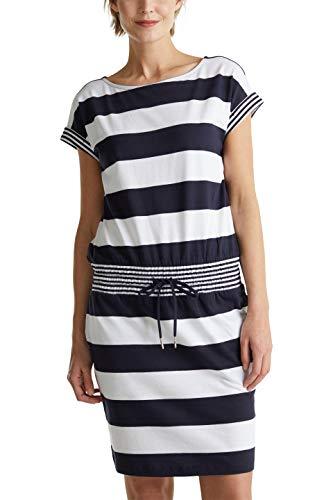 ESPRIT Damen 040EE1E302 Kleid, 400/NAVY, XXL