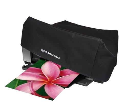 DigitalDeckCovers Printer Dust Cover & Protector for Epson SureColor P400 / Stylus Photo R2880/ R2400/ R2000/ 2200/1400; Epson Artisan 1430; Epson Workforce 1100 [Antistatic, Water Resistant, Black]