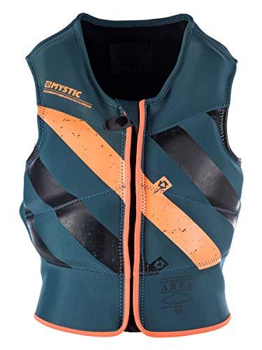 Mystic Kitesurf Block Front-Zip Impact Vest 2017 - Teal XS