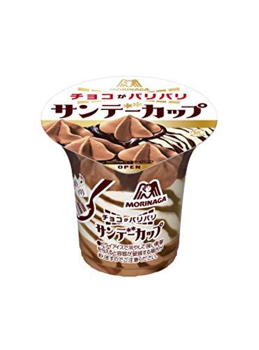 森永製菓 サンデーカップ<パリパリチョコ> 180ml×20個
