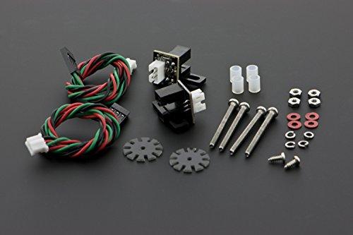 Wielencoders voor Arduino TT motor/best fit met Micro DC geared motor. Het bevat encoders, plastic tube, papier-mediated gasket enz.
