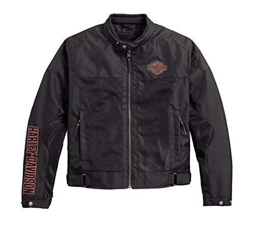 HARLEY-DAVIDSON Bar & Shield Logo Mesh Riding Jacke, 98162-17EM, L