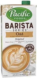 Pacific Natural Foods Oat Milk Barista Series-Non-Dairy Gluten Free- 32 oz ea- case of 12
