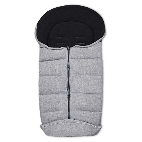 ABC Design Winter Fußsack graphite grey