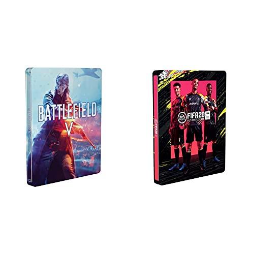 Battlefield V - Steelbook (exkl. bei Amazon.de) - [Enthält kein Spiel] & FIFA 20 - Steelbook für Standard Edition (exkl. bei Amazon.de) - [Enthält kein Spiel]